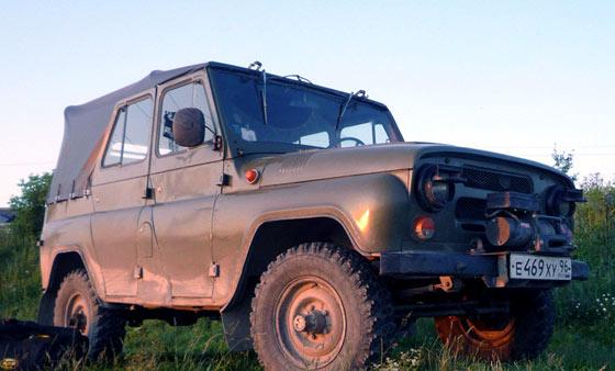 УАЗ 469 с консервации