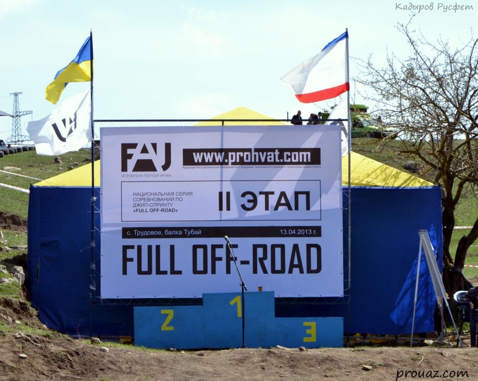 II-й этап Чемпионата Крыма FULL OFF-ROAD