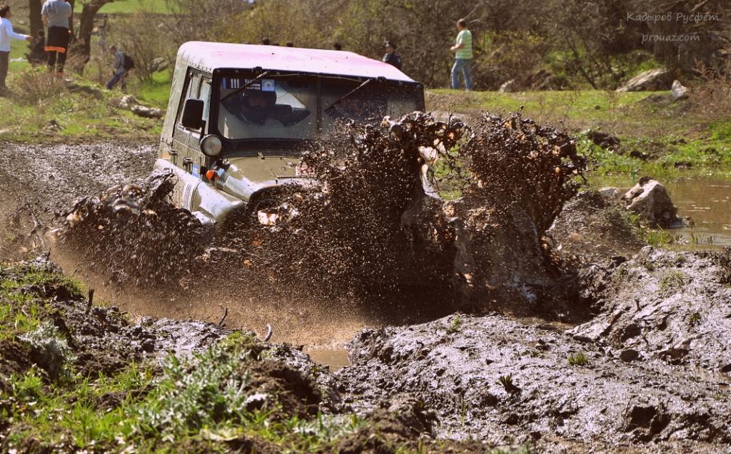 II-й этап Чемпионата Крыма FULL OFF-ROAD трактор уаз 2