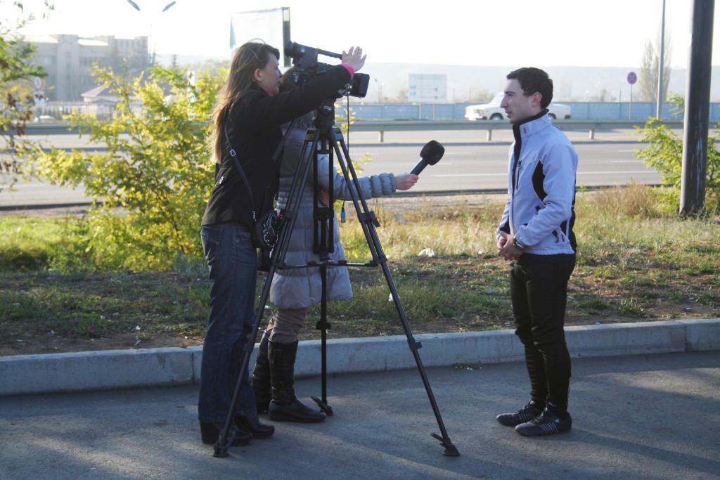 интервью Кадыров Русфет Черноморской телерадиокомпании