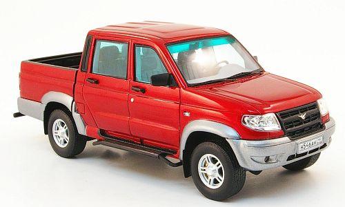 UAZ Pickup - повелитель бездорожья