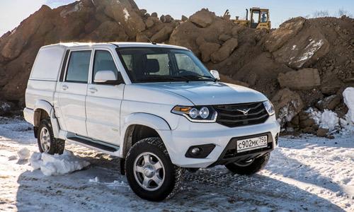 Интересная модель «УАЗ Pickup»