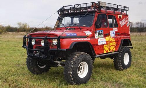 Линейка автомобилей УАЗ Trophy