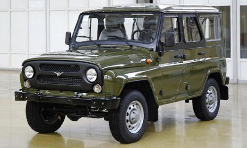 УАЗ - от войсковой модели до «Охотника»