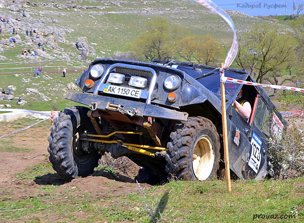 II-й этап Чемпионата Крыма FULL OFF-ROAD трактор уаз
