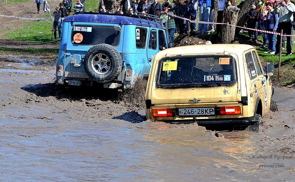 II-й этап Чемпионата Крыма FULL OFF-ROAD трактор уаз и нива