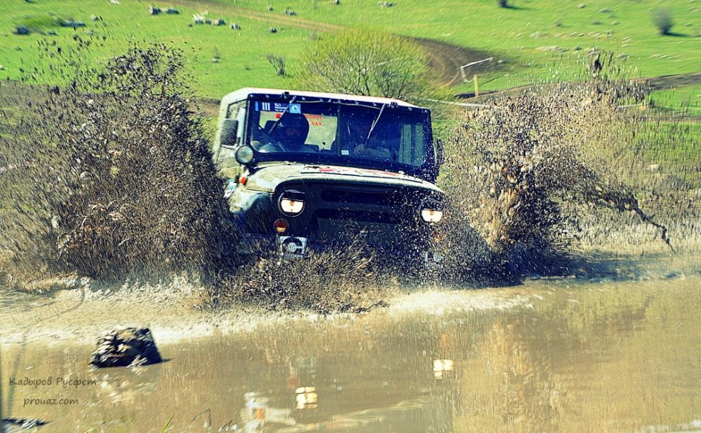 II-й этап Чемпионата Крыма FULL OFF-ROAD трактор уаз 1