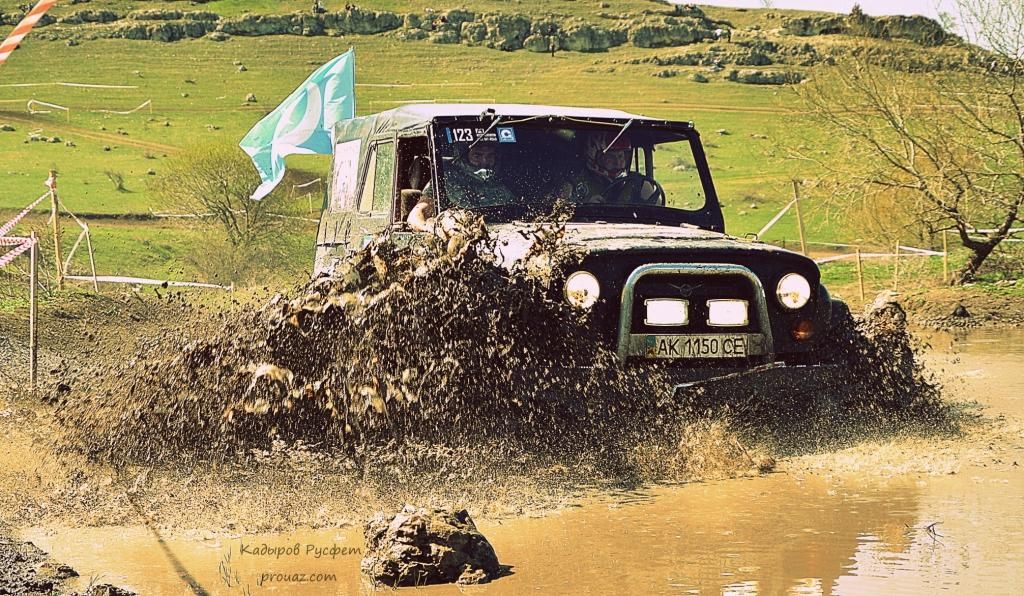 II-й этап Чемпионата Крыма FULL OFF-ROAD УАЗ 469
