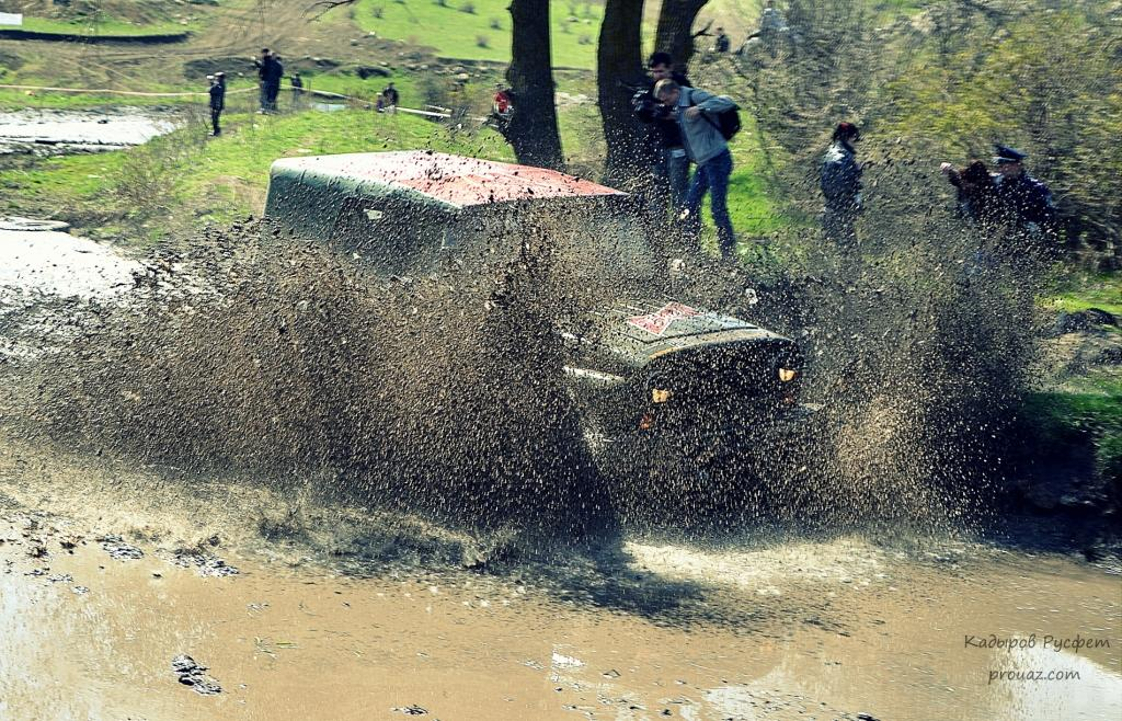 II-й этап Чемпионата Крыма FULL OFF-ROAD трактор уаз 3