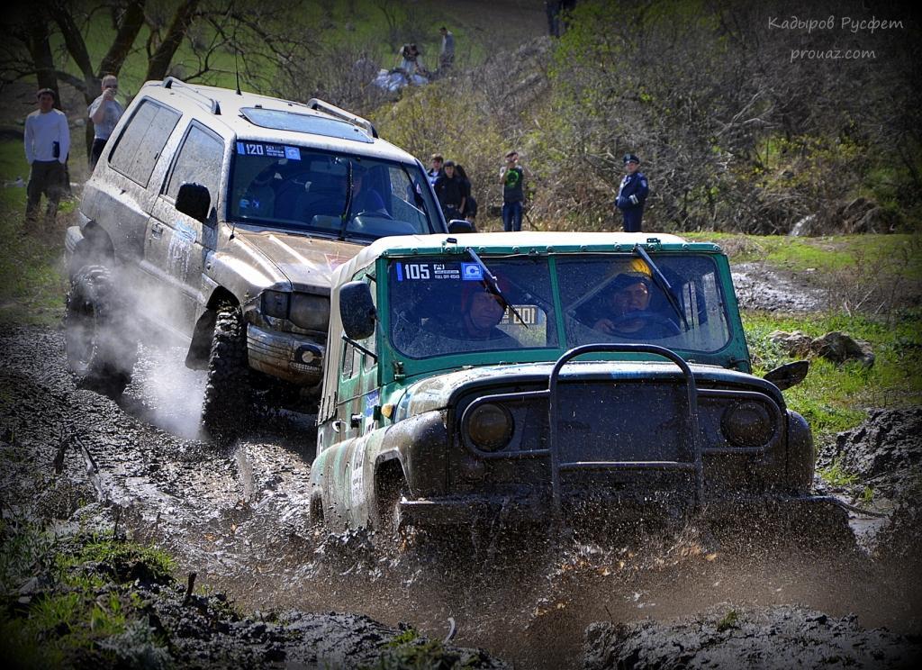 II-й этап Чемпионата Крыма FULL OFF-ROAD трактор уаз митсубиси