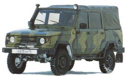 Бронированные автомобили на базе УАЗ